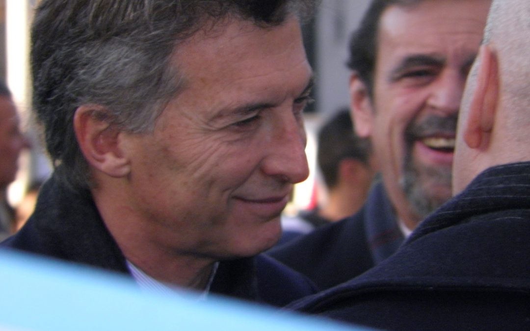"""Macri destacó hoy la """"garra"""" del """"campo"""""""