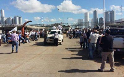 Tamberos protestan hoy para denunciar la crítica situación del sector lácteo