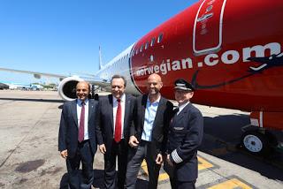 Norwegian Air inició sus vuelos de cabotaje en el país