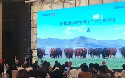 Más promoción de la carne argentina en China