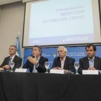 Etchevehere presentó el Mercado de Futuro de la Leche